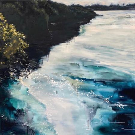 Sanguine | Oil On Canvas |120cm x 120cm