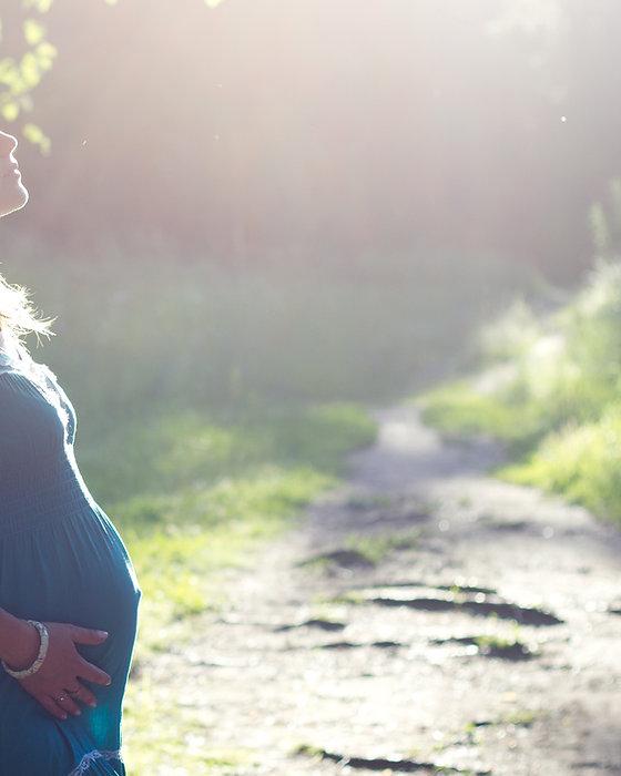 Schwangere Frau von Birch