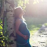 Femme enceinte par Birch