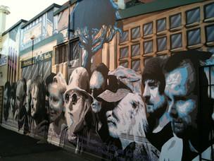 Gosford Graffiti Art Project mural