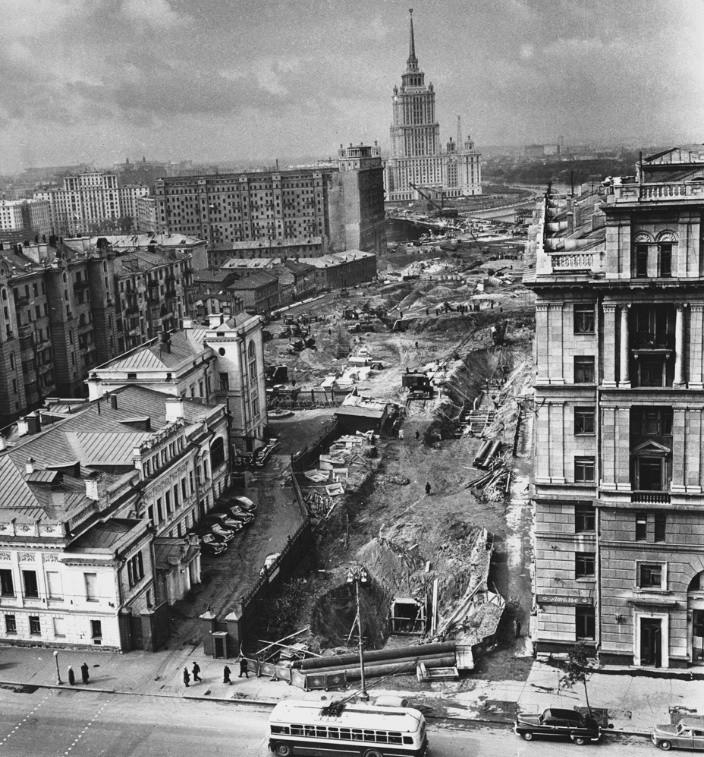 New Arbat construction (1960th)