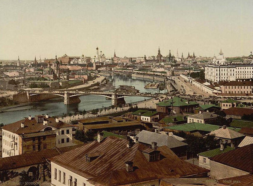 Moscow, end of 19th century