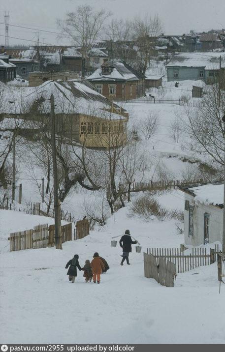 Troparevo village (now m. Troparevo area), 1959