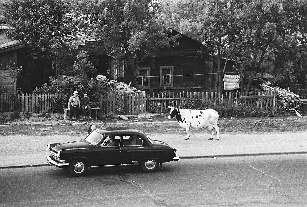 Moscow University district, 1960th