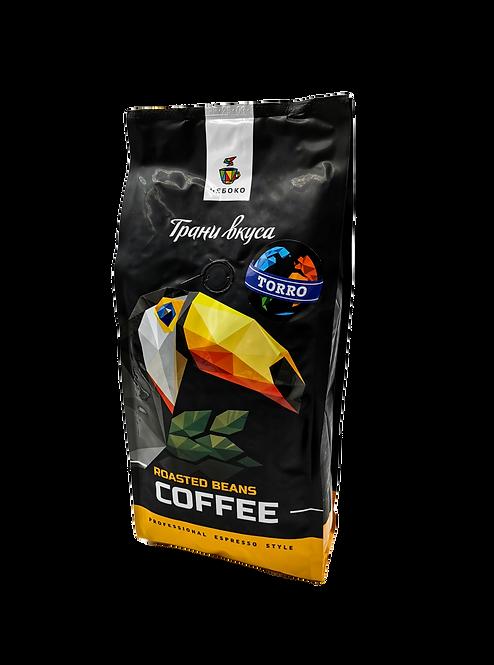 Кофе зерновой Чебоко TORRO, 1кг.