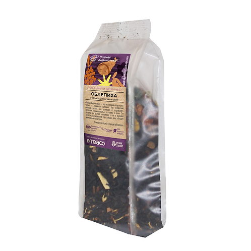 Облепиха с индийским черным чаем и грушей, 100гр.