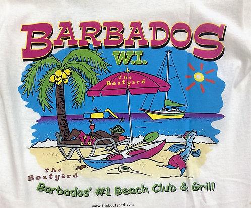 Barbados' #1 Beach Club & Grill T-Shirt