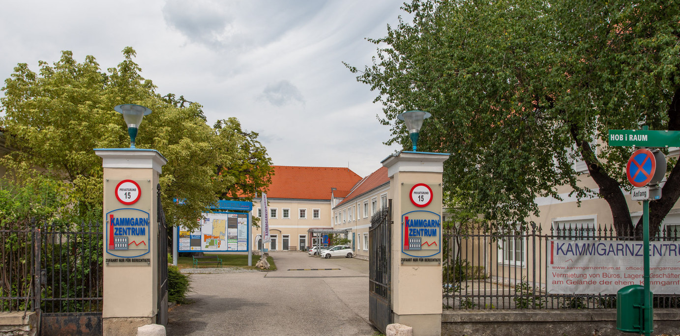 Einfahrt Bad Vöslau