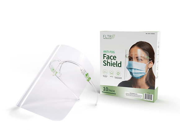 Anti-Fog Face Shield 10PK