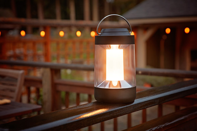 Rechargeable Multi-Color Lantern with Power Bank