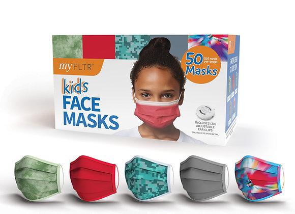 Kids General Use Face Masks 50PK