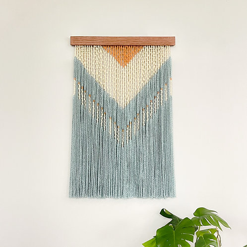 Modern Southwest - Pale Blue & Tan