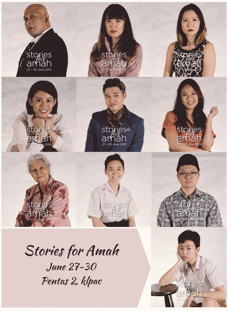 Full cast of 'Stories For Amah'