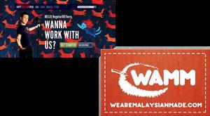 JGL, Hitrecord, WAMM, We Are Malaysian Made