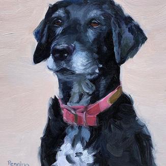 Portrait of Annie #oilpainting #artist #