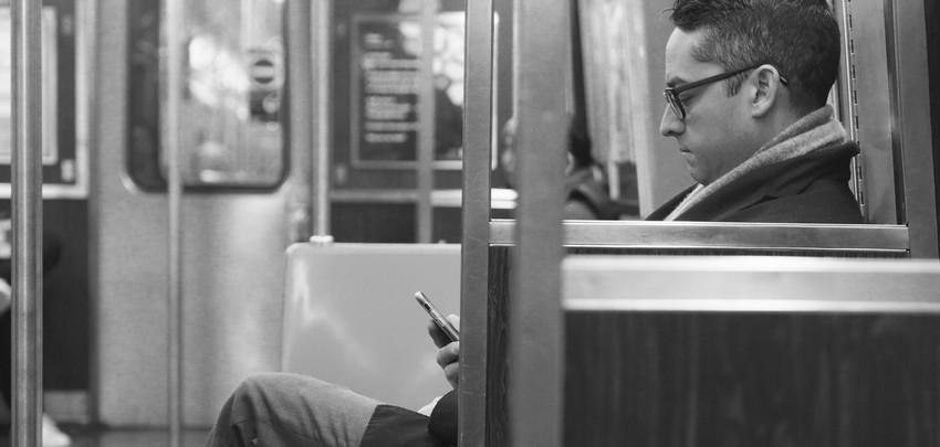 NYC train passenger