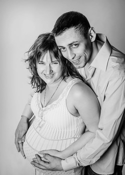 Будущие родители Вероника и Георгий