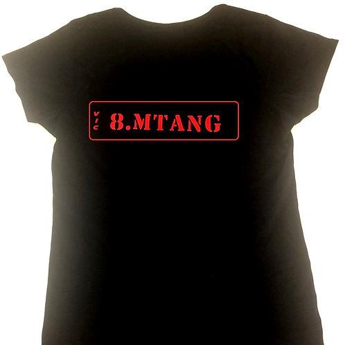 New Design Men's T-shirt Custom Number Plate
