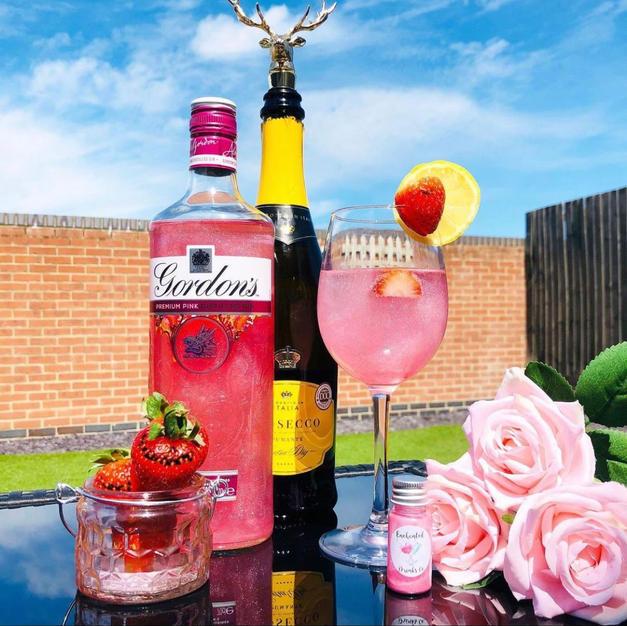 Pink Gin Spritz