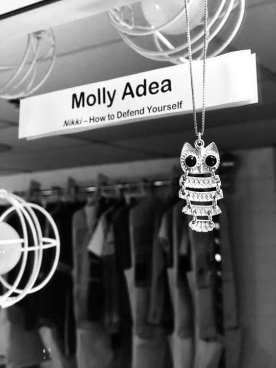 Molly Adea's Makeup station