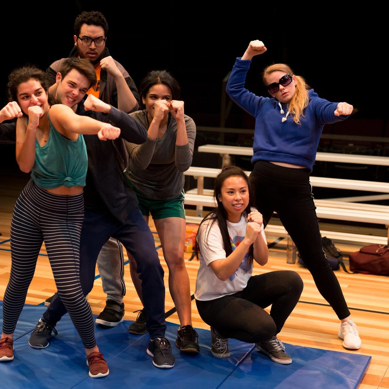 Ariana Mahallati, David Ball, Jonathan Moises Olivares, Gabriela Ortega, Molly Adea, Abby Leigh Huffstetler Photo by Crystal Ludwick