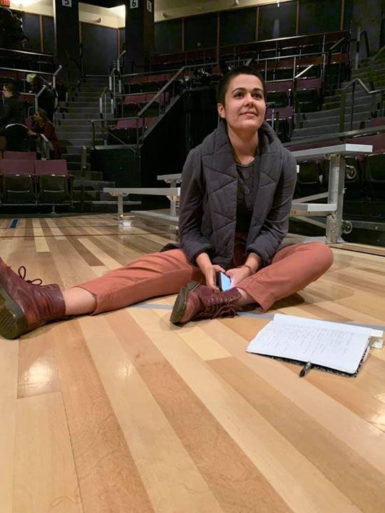 Playwright Lily Padilla