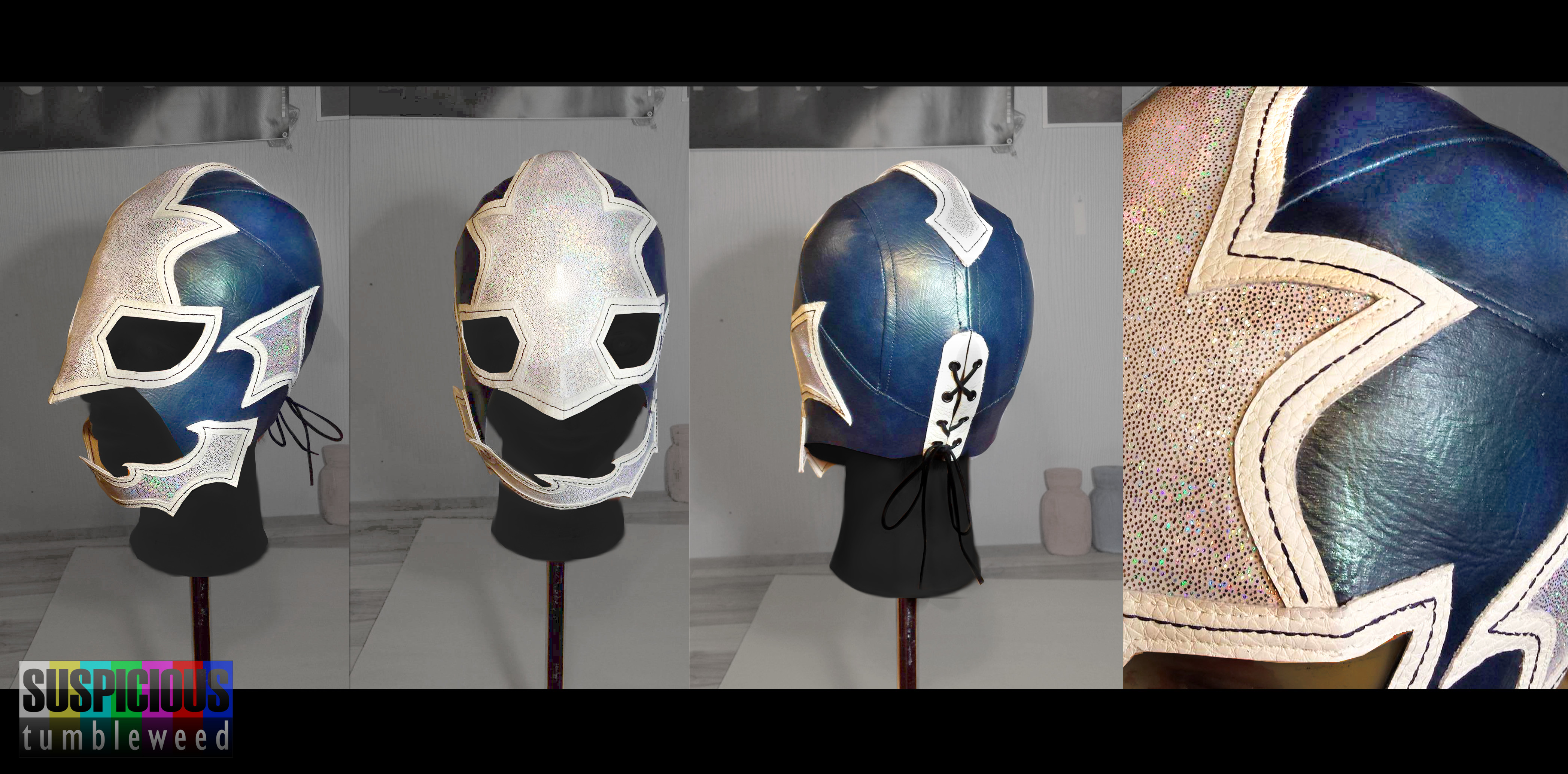 Stingray Lucha Mask