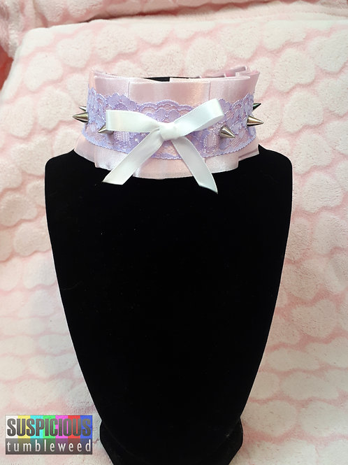 Spikes and Lace Collar