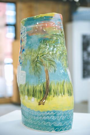 Miami vase