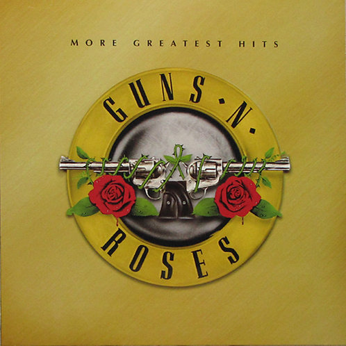Guns N' Roses ‎– More Greatest Hits(Vinyl, LP, Unofficial Release, White )