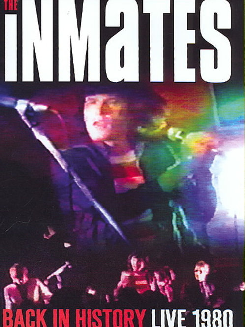 The Inmates ‎– Back In History Live 1980 (Dvd Used)