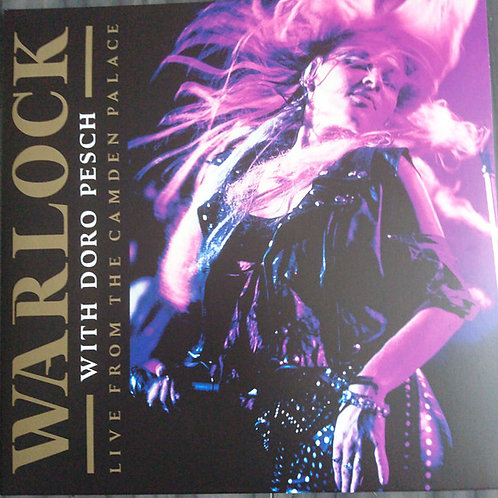 Warlock With Doro Pesch* – Live From The Camden Palace