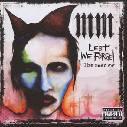 Marilyn Manson – Lest We Forget - The Best Of  CD