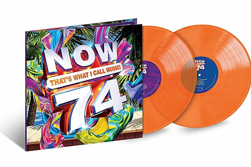 Various ‎– Now That's What I Call Music! 74 limited translucent 2lp orange vinyl