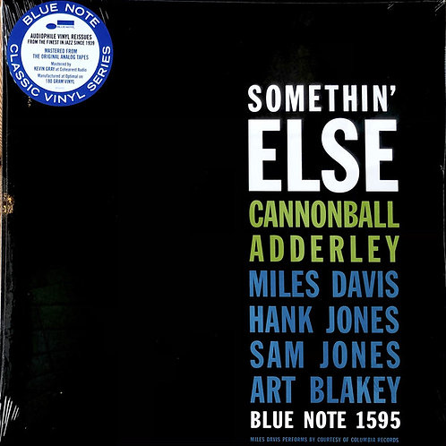 Cannonball Adderley – Somethin' Else Blue Note Classic series
