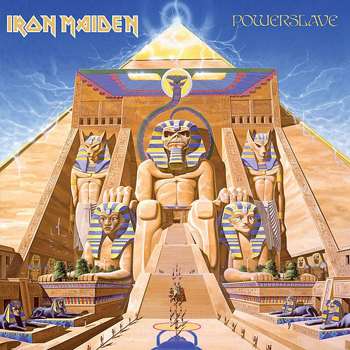 Iron Maiden ‎– Powerslave CD