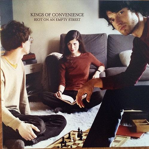 Kings of Convenience - Riot on An Empty Street..(Gatefold LP Jacket) (L.P.)