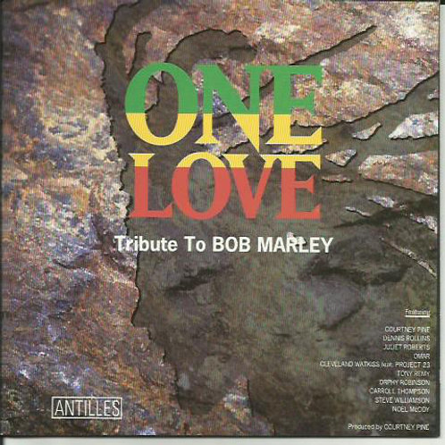 Various – One Love - Tribute To Bob Marley CD