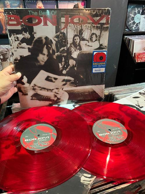 Bon Jovi - Cross Road (Walmart Exclusive) (Vinyl) Factory Fault