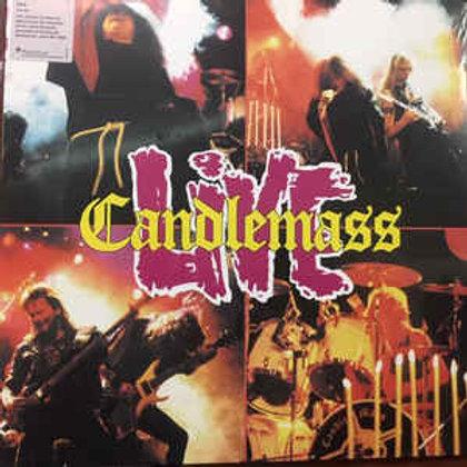 Candlemass – Live( 2 × Vinyl, LP, Album, Reissue )