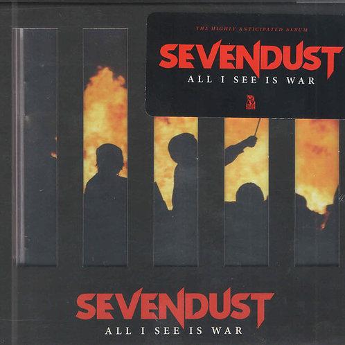 Sevendust – All I See Is War CD