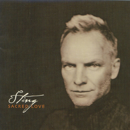 Sting ‎– Sacred Love CD