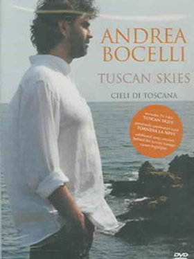 Andrea Bocelli–Tuscan Skies - Ciele Di Toscana (Dvd Used)