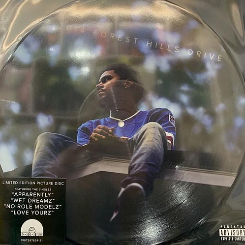 "J. Cole ‎– 2014 Forest Hills Drive (Picture Disc)12""Rsd 2019"