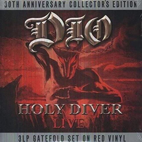 Dio  – Holy Diver Live 3LP (Red Vinyl)