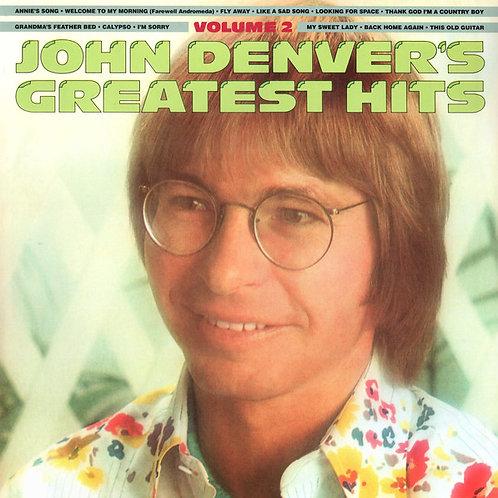 John Denver – John Denver's Greatest Hits, Vol. 2 Limited Edition, Reissue, Rem