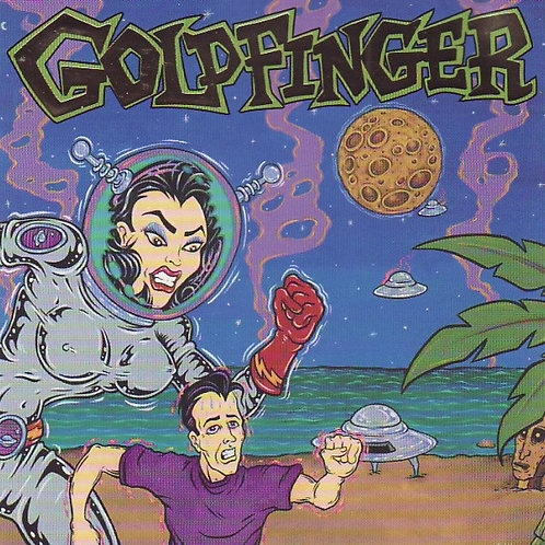 Goldfinger (7) ‎– Goldfinger CD
