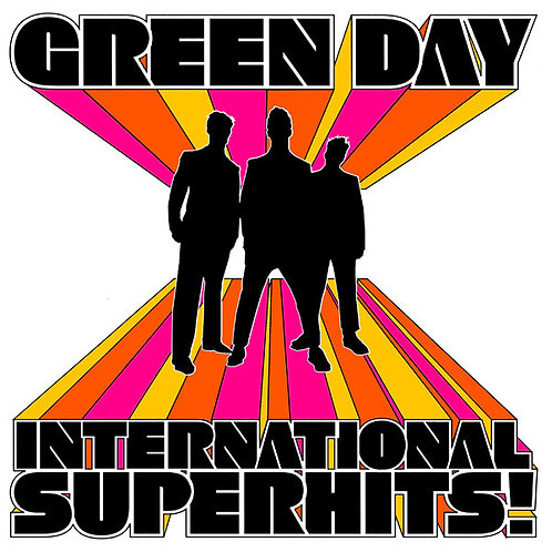 Green Day ‎– International Superhits! CD