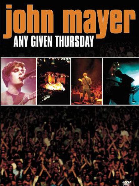 John Mayer–Any Given Thursday (Dvd Used)