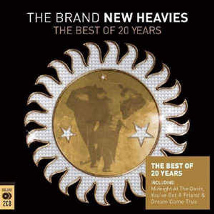 The Brand New Heavies ‎– The Best Of 20 Years CD